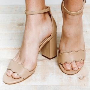Sam Edelman Shoes - Sam edelman odila nude heels new in box